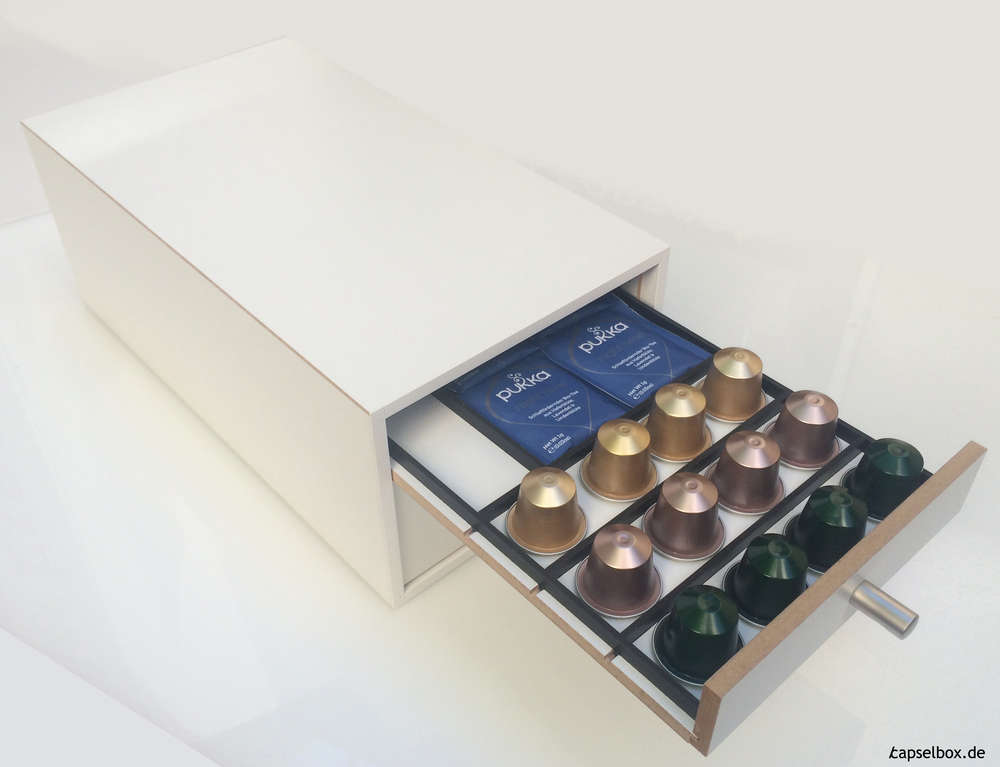 Kaffeekapsel-Spenderbox für Nespresso-Kapseln