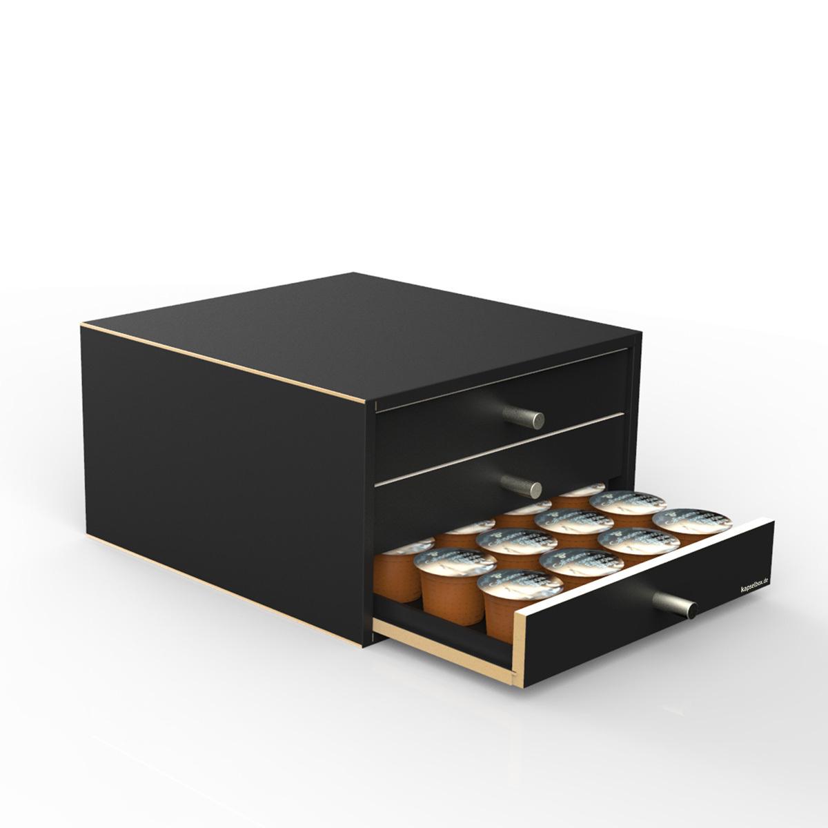 nespresso box f r 60 kapseln 48 gr kapseln. Black Bedroom Furniture Sets. Home Design Ideas
