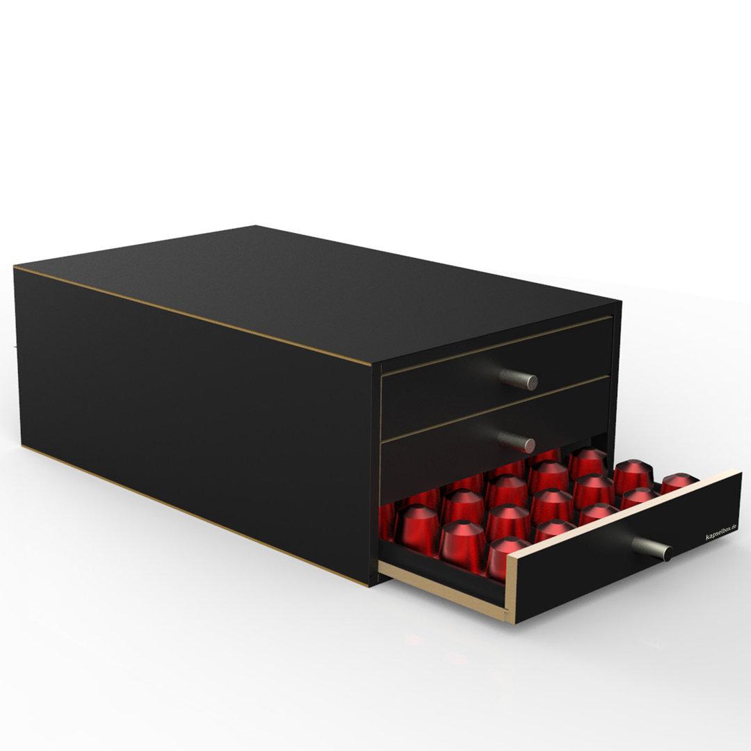 kapselspender f r 150 kapseln nespresso oder senseo. Black Bedroom Furniture Sets. Home Design Ideas